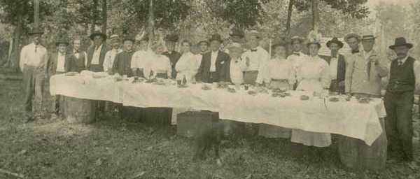 Apple Creeek Day - Stevensons - about 1900